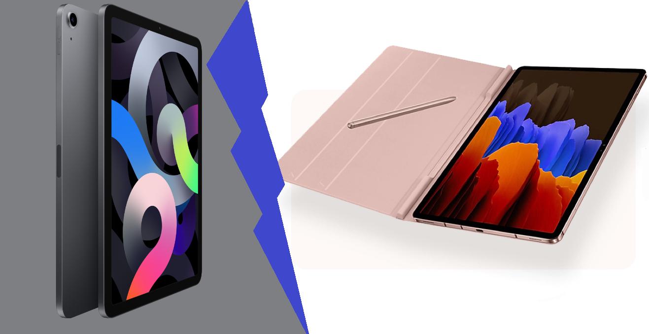 Samsung Galaxy Tab S7 Plus vs iPad Air 4, Who's Going To ...